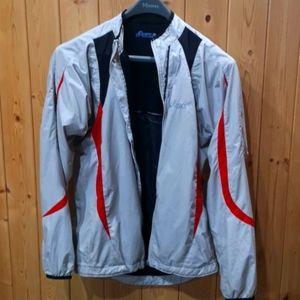 Asics running jacket.